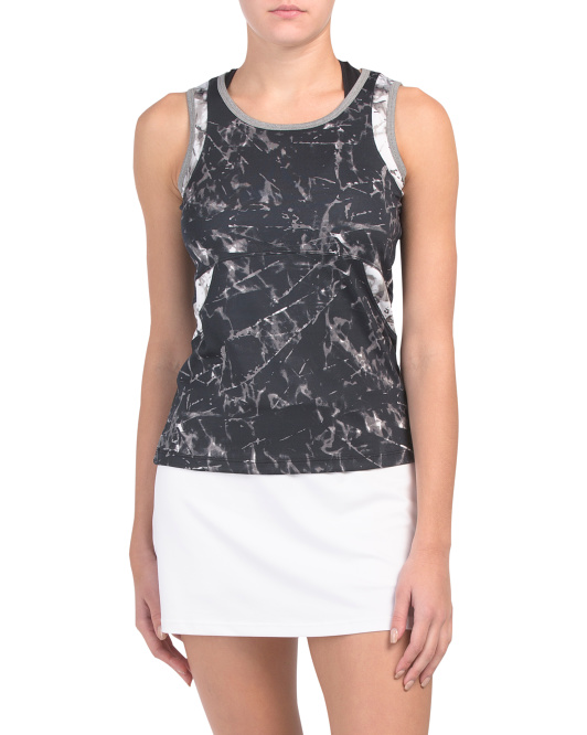 Tennis Tank With Waist Inserts