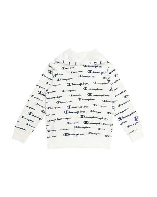 Big Boys French Terry All Over Print Hoodie
