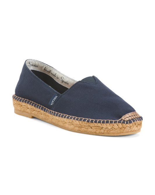 Made In Spain Canvas Flats