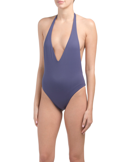 Made In Usa Emma Ecolux One-piece Swimsuit