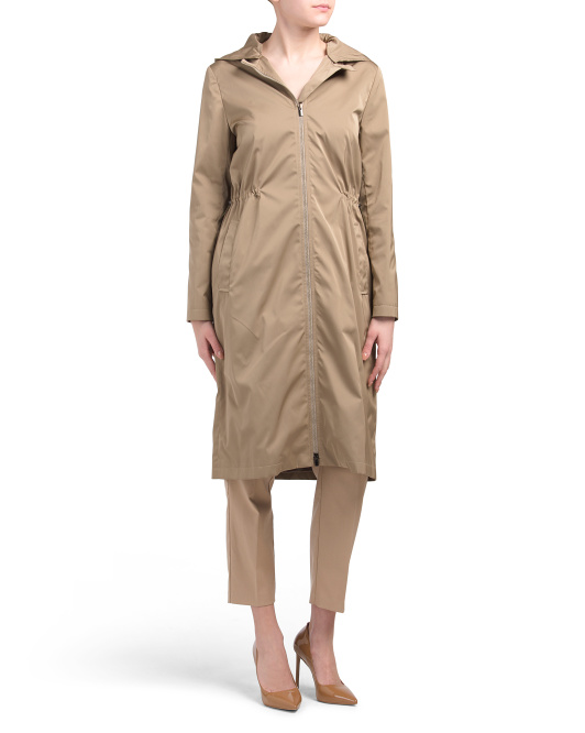 Made In Italy Maxi Anorak Coat