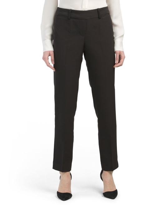 Petite Pull On Wrinkle Resistant Pants