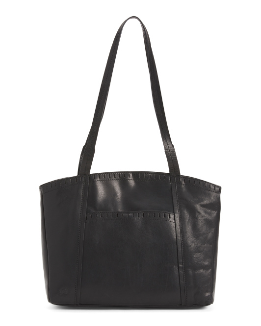 Leather Grainger Tote