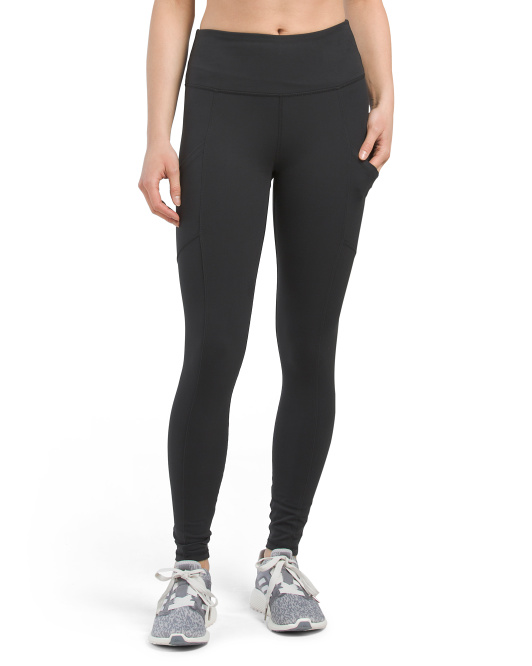 High Waist Tummy Control Ankle Leggings