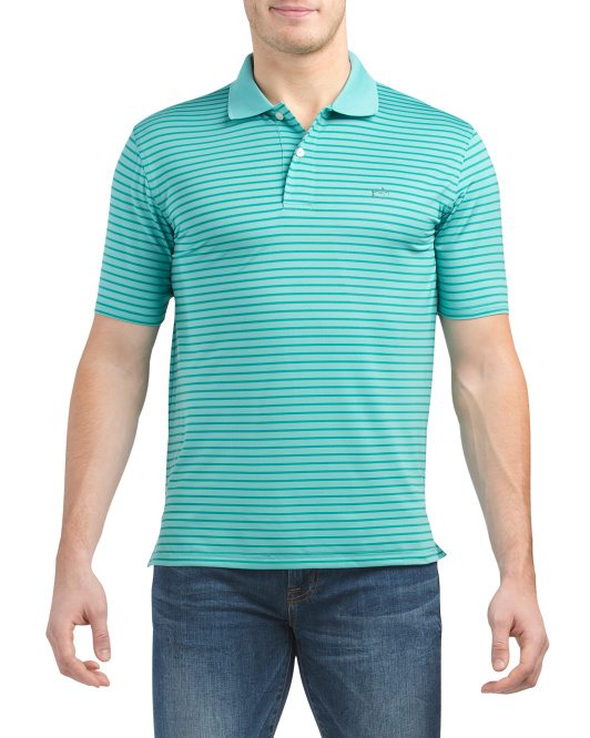 Short Sleeve Summer Tide Performance Polo