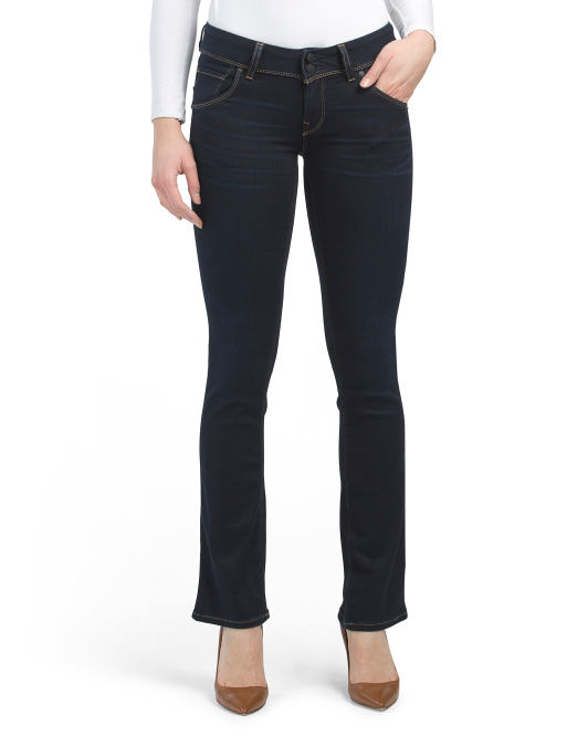 Petite Beth Mid Rise Bootcut Jeans