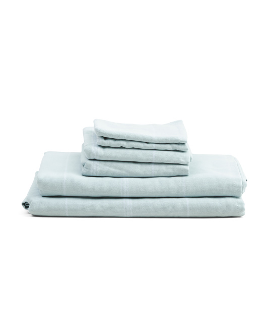 6pc Priya Towel Set