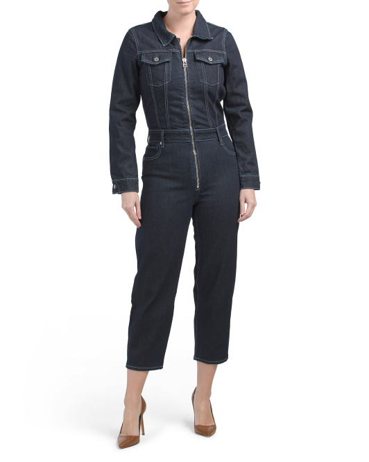 Lock And Stock Denim Jumpsuit