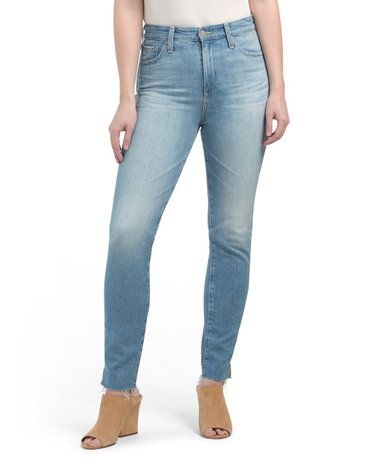 Made In Usa Sophia High Rise Vintage Ankle Jeans