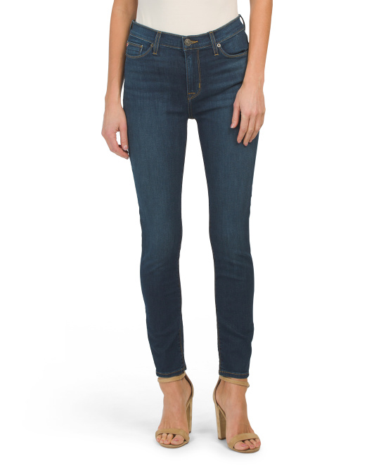 Natalie Mid Rise Ankle Skinny Jeans
