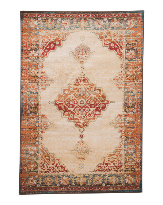 Vintage Medallion Area Rug