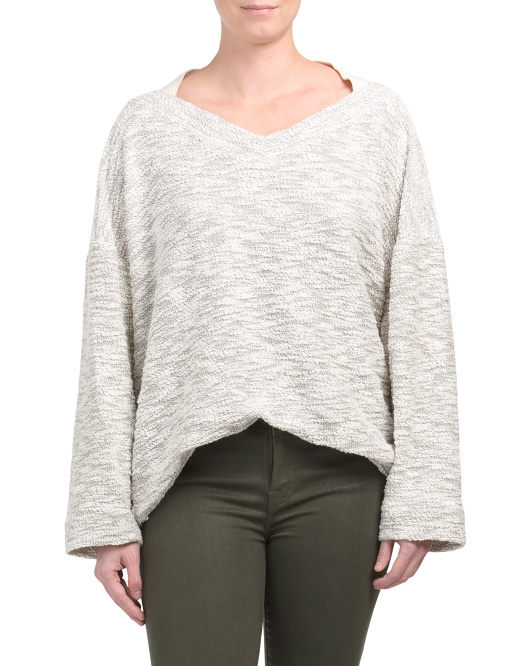 Slouchy Sweater Top