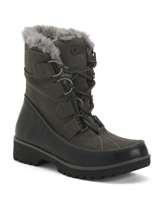 Cozy Lined Storm Boots