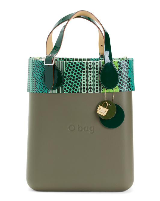 Made In Italy Eva Compound Chic Tote