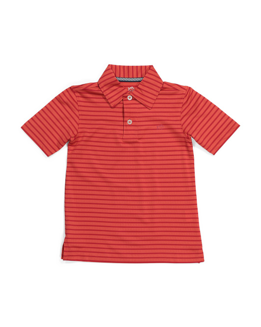 Big Boys First Made Performance Polo