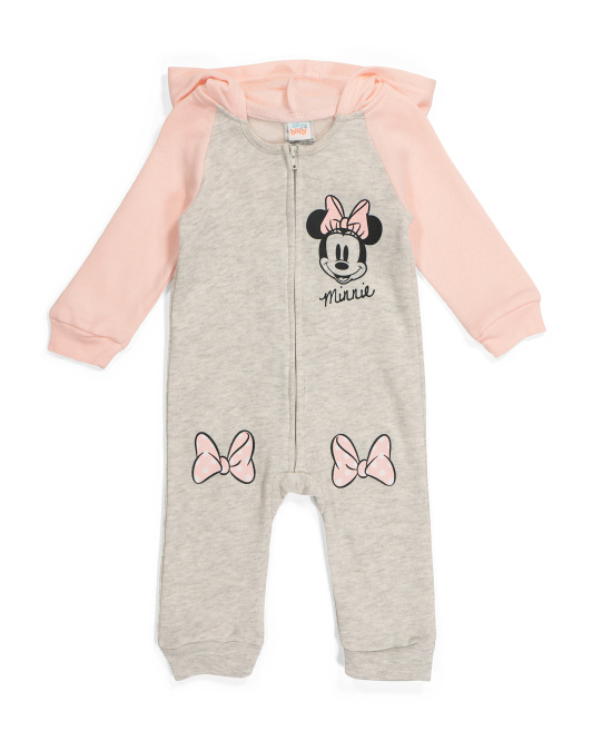 Infant Girls Minnie Coverall