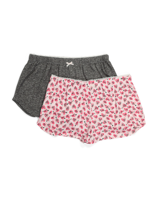 2pk Hearts Arrows Shorts