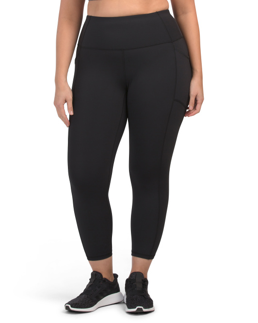 Plus Tech Flex Ankle Leggings With Pockets