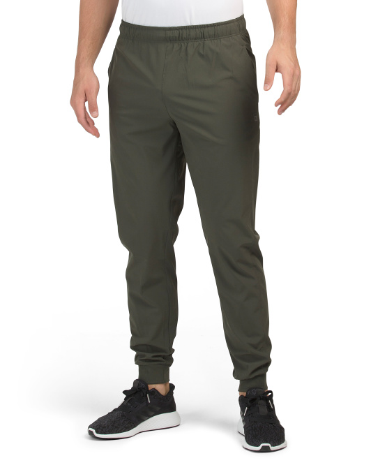 Woven Stretch Joggers