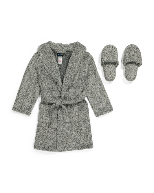 Boys Robe With Slippers