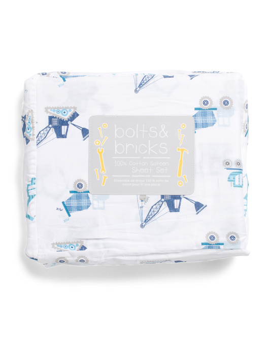 Construction Bang Sheet Set