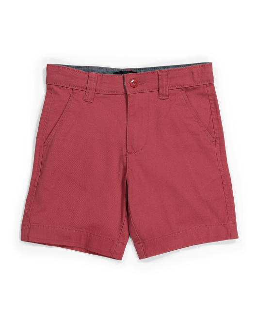 Little Boy Connor Woven Shorts