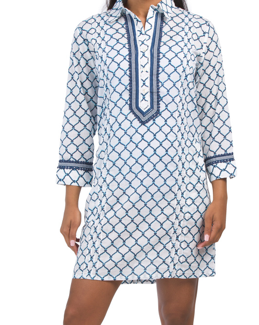 Organic Cotton Essential Cover-up Shirt Dress