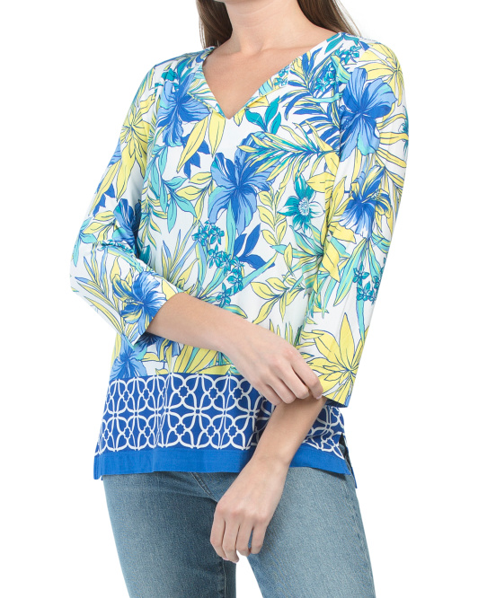 Trisha Printed Top
