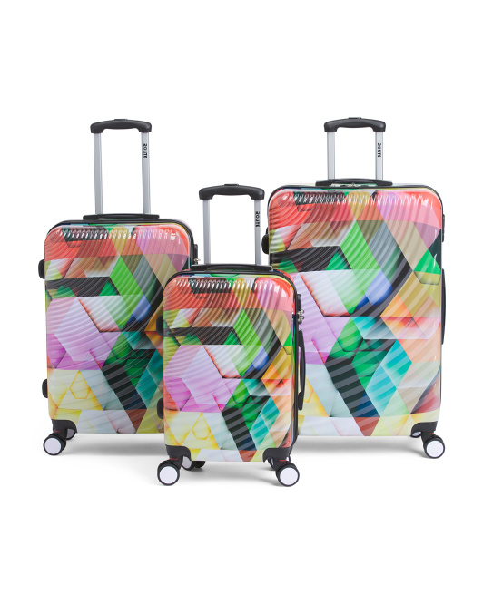 Printed Hardside Luggage Collection
