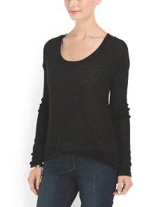 image of The Ellipser Cashmere Sweater