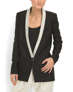 image of Long Panel Jacket