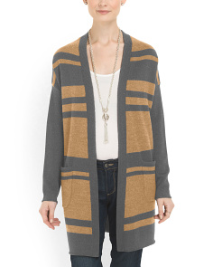 image of Merino Wool Blend Cardigan
