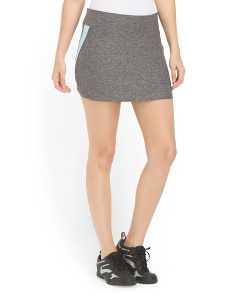 image of Skort With Mesh Insets