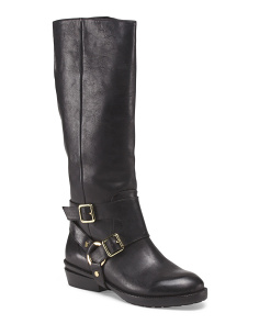 image of Leather High Shaft Boot