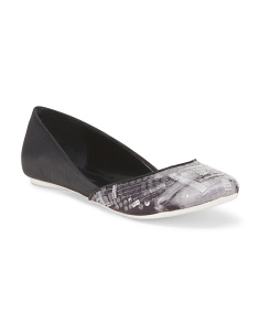 image of Slip-py Embellished Toe Flat
