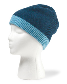image of Women's Cashmere Colorblock Beanie