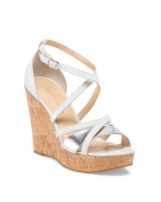 image of Leather Cork Bottom Sandal