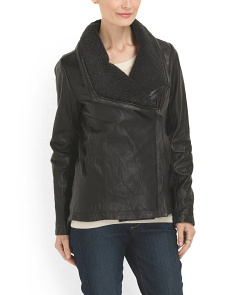 image of Faux Shearling Jacket