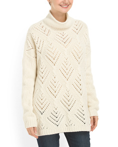 image of Made In Italy Merino Wool Oversized Sweater