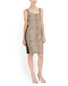 image of Arianna Sleeveless Print Dress