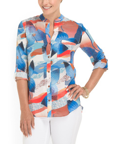 image of Silk Gilmore Cdc Blouse