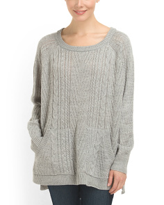 image of Textured Raglan Sweater