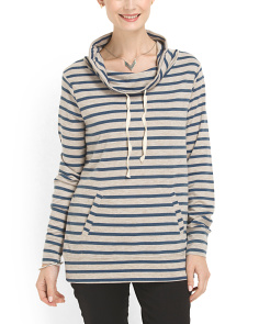 image of Striped Pullover Top