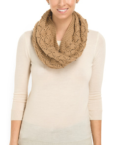 image of Beaded Cowl Scarf