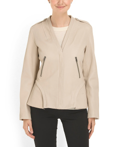image of Lamb Leather Rozalia Jacket