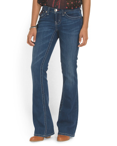 image of Juniors Cotton Blend Boot Cut Jean