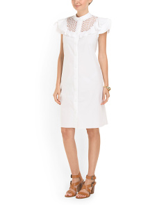 image of Cotton Freya Shirt Dress