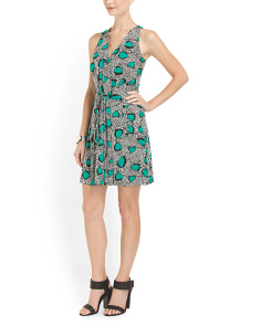 image of Oblixe Sleeveless Wrap Dress