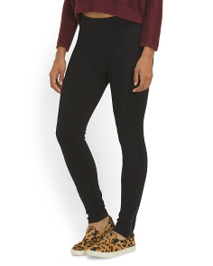 image of Juniors Pull On Skinny Fit Ponte Pant