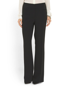 image of Travel Crepe Front Zip Pant